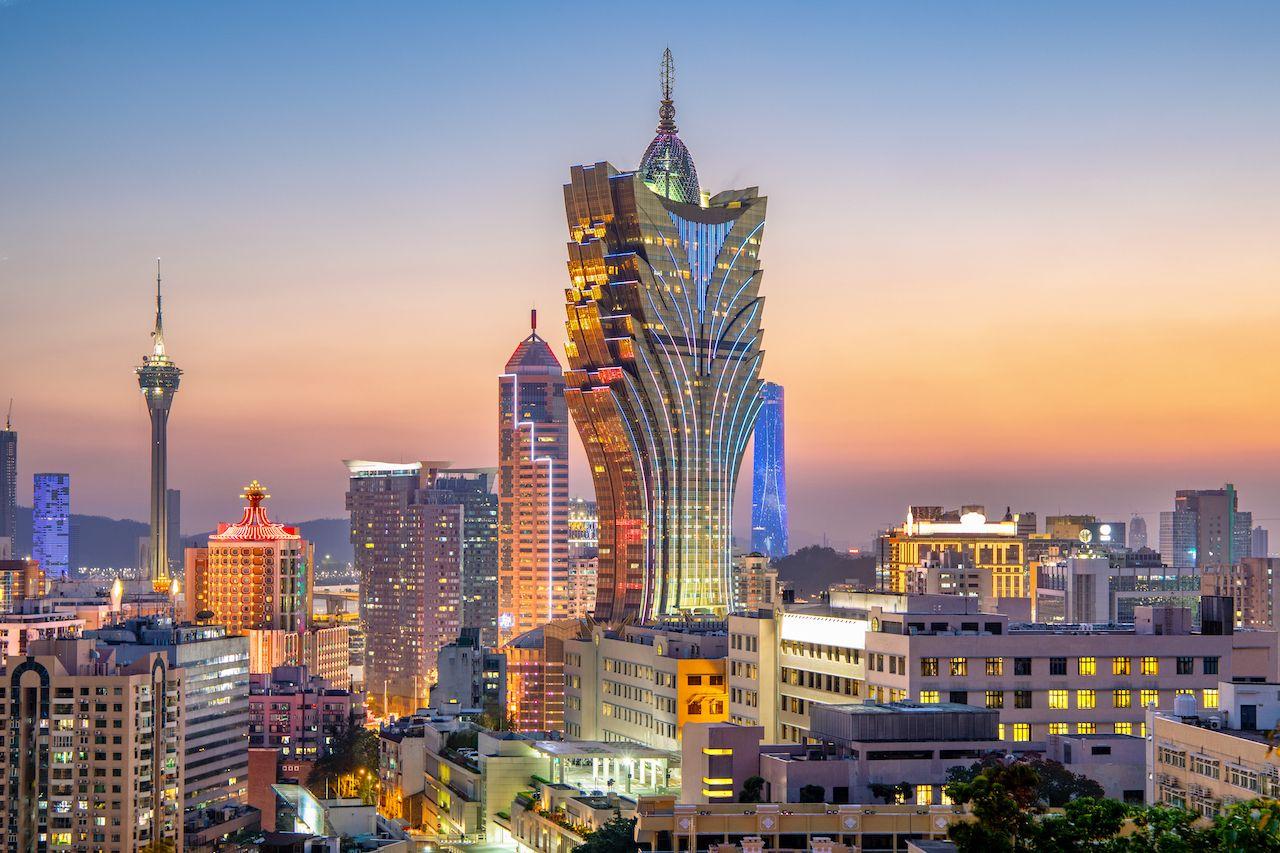 Macau's gaming